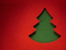 Christmas paper background texture, papercraft theme Royalty Free Stock Images