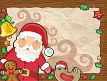 Christmas paper backgrounds 2 stock illustration