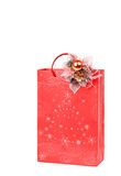 Christmas paper bag Stock Photography