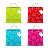 Christmas paper bags Stock Image