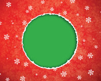 Christmas Paper Tear. Stock Photography