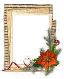 Christmas papers frame Stock Photo