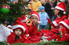 Christmas Parade Royalty Free Stock Photography