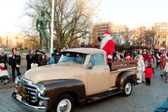 Christmas parade Royalty Free Stock Image