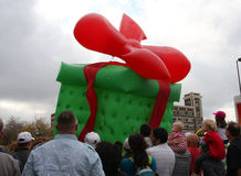 Christmas parade Stock Image