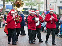 Christmas Parade - Brass band Royalty Free Stock Photo