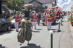 Christmas Parade Gramado Brazil Royalty Free Stock Images