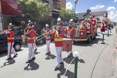 Christmas Parade Gramado Brazil Royalty Free Stock Image