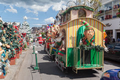 Christmas Parade Gramado Brazil Royalty Free Stock Photography