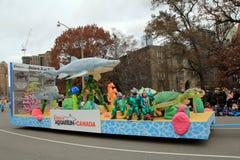 Christmas Parade in Toronto Stock Photo