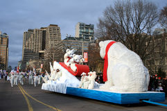 Christmas Parade in Toronto Stock Photography