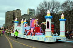 Christmas Parade in Toronto Stock Photo