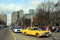 Christmas Parade in Toronto stock photography
