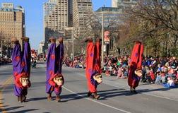 Christmas Parade Stock Image