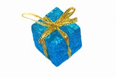 Christmas parcel Royalty Free Stock Photos