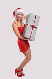 Christmas parcel Royalty Free Stock Photography