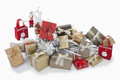 Christmas parcels Stock Image