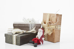 Christmas parcels Stock Photos