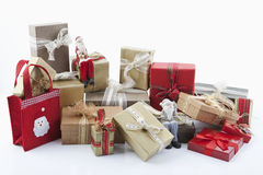 Christmas parcels Stock Photo