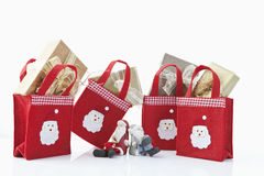 Christmas parcels Stock Photography