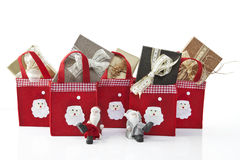 Christmas parcels Royalty Free Stock Images