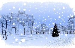 Christmas Paris Royalty Free Stock Photos