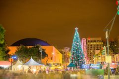 Christmas in the Park Royalty Free Stock Images