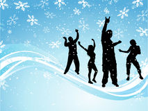 Christmas party Stock Photography