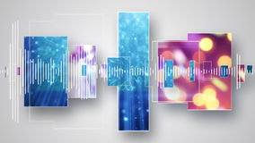 Christmas party abstract background. Christmas party musical abstract background vector illustration