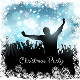 Christmas party background Royalty Free Stock Image