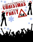 Christmas Party Background Royalty Free Stock Images