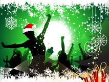 Christmas party background Stock Images