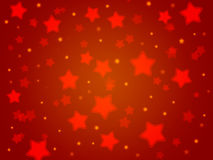 Christmas party background from red stars.Light gradient. Christmas party background from red stars.Light red gradient Royalty Free Stock Images