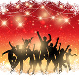 Christmas party background Royalty Free Stock Photography