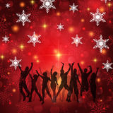 Christmas party background Royalty Free Stock Photo