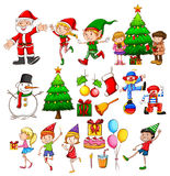 Christmas party celebration Royalty Free Stock Photos