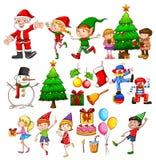 Christmas party celebration Royalty Free Stock Photos