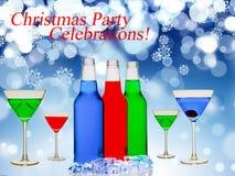 Christmas Party Celebrations Time stock illustration