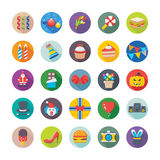Christmas, Party and Celebrations Vector Icons 3 Stock Photos
