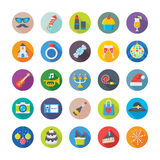 Christmas, Party and Celebrations Vector Icons 2 Royalty Free Stock Photo