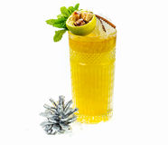 Christmas party coctail Royalty Free Stock Images