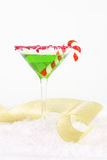 Christmas Party Drink Cocktail Royalty Free Stock Photo