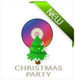 Christmas Party. Drive until the new year. Christmas drive. Christmas music. Music new year Royalty Free Stock Photography