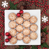 Christmas Party Food Royalty Free Stock Photos