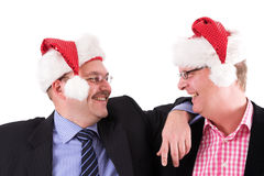 Christmas party fun Royalty Free Stock Photography