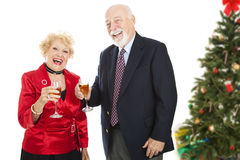 Christmas Party Fun Stock Photo
