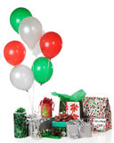 Christmas Party Gifts Stock Photo