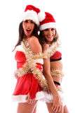 Christmas party girls. Stock Photography