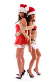 Christmas party girls. Stock Photo