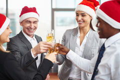 Christmas party Royalty Free Stock Photos